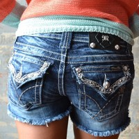 Piace Boutique - Miss Me Ethnic Shorts in Bottoms