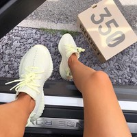 Adidas Yeezy 550 Boost 350 V2 Fashionable Women Men Casual Sport Running Shoe Sneakers Pull White I/A