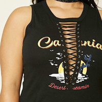 Plus Size California Bodysuit