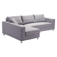 Roxboro Sleeper Sectional Gray