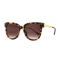 Thierry Lasry Flashy Butterfly Sunglasses, Havana