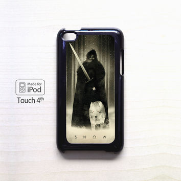 Snow tumblr for Ipod 4/Ipod 5 apple case