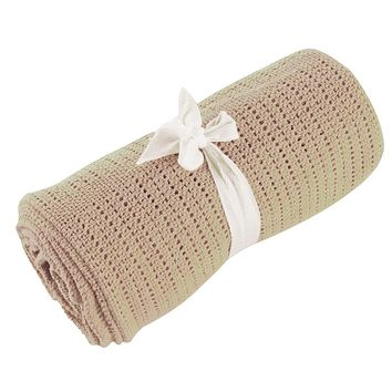 Baby Blankets - Free Shipping - Super Soft Candy Color Sleeping Blanket - Beige 80cm X 92cm
