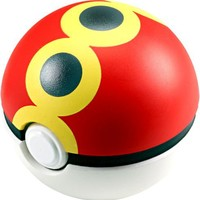 Pokemon Soft Foam 2.5 Inch Pokeball Toy Repeat Ball