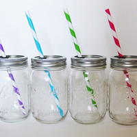 Mason Jar Tumbler, Mason Jar Glass, Mason Jar Cup, Redneck Cup, Glass Tumbler, Wedding Favors, Party Glasses, Baby Shower Decor