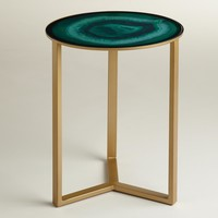 Emerald Harbin Accent Table