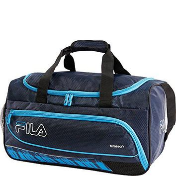 Fila Lasers Small Sports Duffel Gym Bag, Navy, One Size