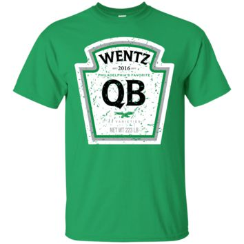 Wentz QB Label Inspired Retro T-Shirt Limited Time Only