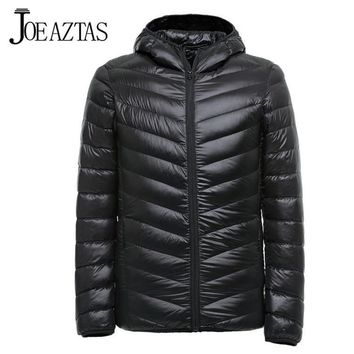 Men's Jackets Winter ultra thin Coat Waterproof