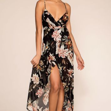 Forget It's Sunday Floral Maxi Dress