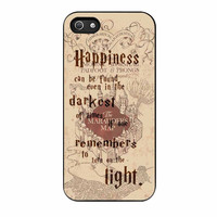 Harry Potter Marauders Map Quote iPhone 5s Case