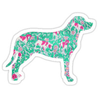 Lilly Pulitzer Inspired Dog   #1 by lifeinlilly