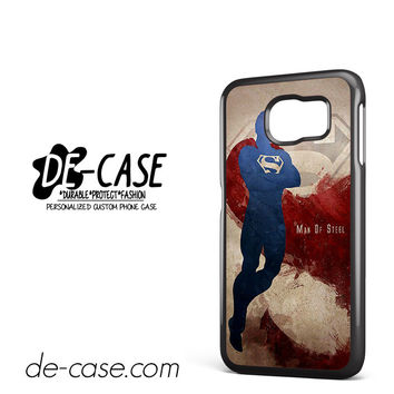 Man Of Steel Art DEAL-6824 Samsung Phonecase Cover For Samsung Galaxy S6 / S6 Edge / S6 Edge Plus
