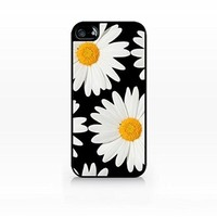 Dream Cookies - Daisy Flower Pattern iPhone Case - Apple iPhone 5C Case - TPU Case - Hard Rubber Case