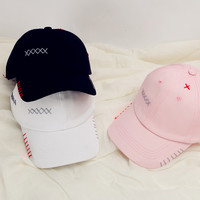 Korean Hip-hop Tidal Flat Baseball Cap