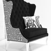 www.roomservicestore.com - Casablanca Double Wing Chair