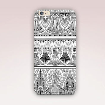 Egyptian Pattern Phone Case  iPhone 6 Case - iPhone 5 Case - iPhone 4 Case - Samsung S4 Case - iPhone 5C - Tough Case - Matte Case - Samsung