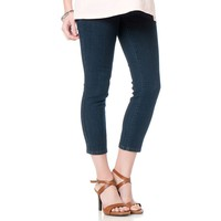 Oh Baby by Motherhood Secret Fit Belly Skinny Crop Jeans