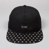 King Apparel - Commute Pinch Panel Snapback - Black