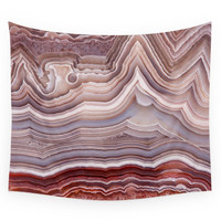 Society6 Agate Crystal Wall Tapestry