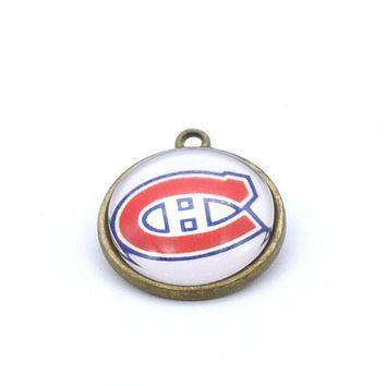 Pendant Accessories NHL Montreal Canadiens Charms Accessories for Bracelet Necklace for Women Men Ice Hockey Fans Paty 2017