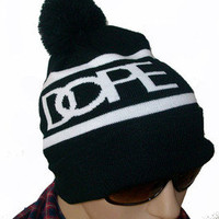 Hip-Hop Unisex Supreme NEW DOPE Beanies Cotton Men's Women's knit caps wool Hats