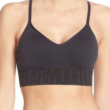 Under Armour Seamless HeatGear® Sports Bra | Nordstrom