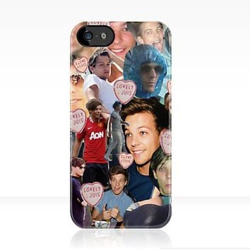 Louis Tomlinson Collage iPhone Case