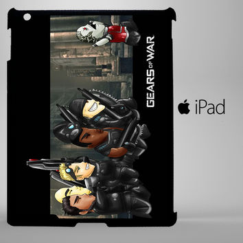 funny gears of war iPad 2, iPad 3, iPad 4, iPad Mini and iPad Air Cases - iPad