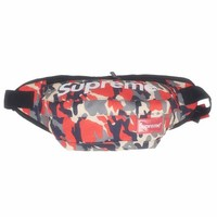 Men's and Women's Supreme Chest Pockets Oxford Casual Riding Bag 008