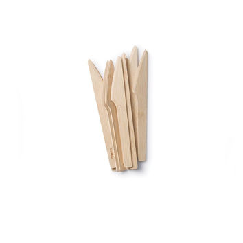 All Occasion Veneerware® Bamboo Knives (case of 250)