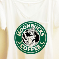 Moonbucks Coffee Shirt | Sailor Moon