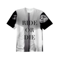 Ride or Die Shirt created by Nxtlvlco | Print All Over Me