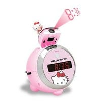 HELLO KITTY KT2054 Projection Clock Radio (Discontinued by Manufacturer)