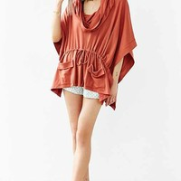 Silence + Noise Maddox Draped Poncho Top