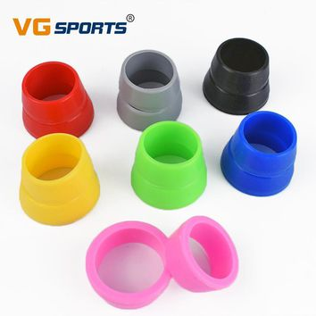 2 Pcs Mountain Road Bike Seatpost Rubber Ring Dust Cover MTB Cycling Silicone Bicycle Seat Post Case Small/ Big Size