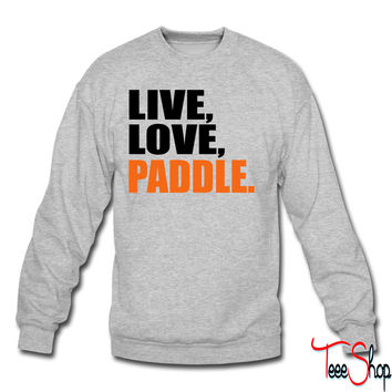 kayak crewneck sweatshirt