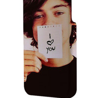 Best 3D Full Wrap Phone Case - Hard (PC) Cover with Harry Styles One Direction I Love You Design