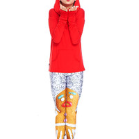 Girls Gingerbread Woman Leggings