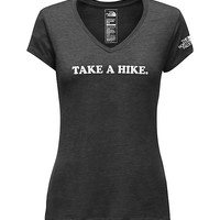 WOMEN'S SHORT-SLEEVE TAKE A HIKE V-NECK TRI-BLEND TEE | United States