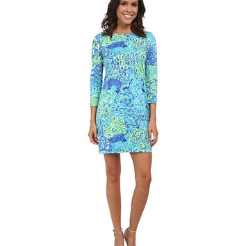 Lilly Pulitzer Marlowe Dress Sea Blue Lillys Lagoon - Zappos.com Free Shipping BOTH Ways