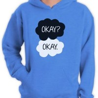 Green Turtle - Okay? Okay California Blue Medium Hoodie
