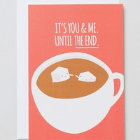 Jolly Awesome You & Me Card at asos.com
