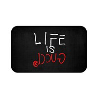 LIFE IS GUCCIⓇ Bath Mat