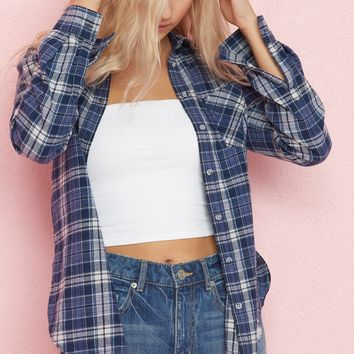 Plaid Flannel Girlfriend Shirt