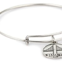 "Alex and Ani ""Places We Love"" Expandable Wire Bangle Bracelet"