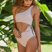 LA Hearts Tie Side One Piece Swimsuit at PacSun.com