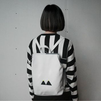 Cute Canvas Backpacks Symbols