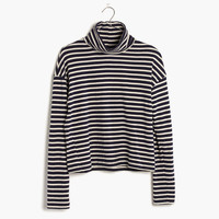 Rivet & Thread LA Crop Turtleneck: Striped Edition : shopmadewell AllProducts | Madewell