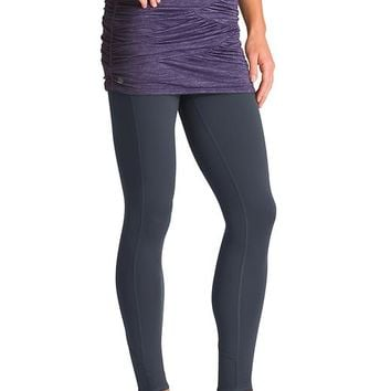Athleta Womens Yin-Yang 2 In 1 Tight Size XL Tall - Flint grey/nightshade purple